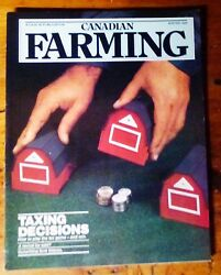 Vintage Case Ih 32 Page Canadian Farming Magazine New Winter 1989