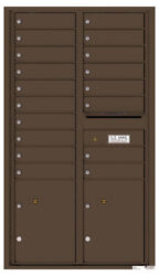 Florence 18 Doors And 2 Parcels 4c Wall Mount Mailbox - 4c15d-18 - Free Shipping