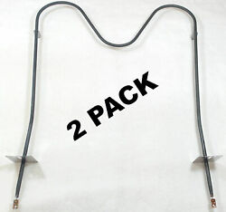2 Pk Bake Element For Whrilpool Sears Ap3095829 Ps340505 326791