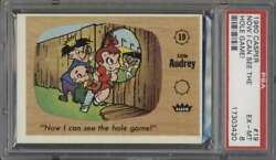 1960 Fleer Casper 19 Now I Can See The Hole Game Psa 6 Exmt 63601