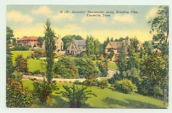 Knoxville Tennessee Tn Homes In Kingston Pike 1940s