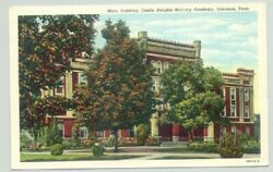 Lebanon, Tennessee Tn Castle Heights Military Academy 1940s