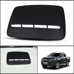 Black Front Bonnet Hood Scoop Cover For Chevrolet Chevy Colorado My17 2016-2021