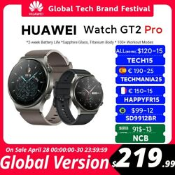 In Stock Global Version Huawei Watch Gt 2 Pro Smartwatch 14 Days Battery Life Gp