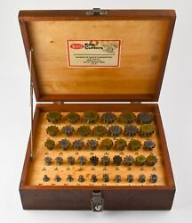 Complete 41 Piece Boxed Set Of Keo Key Cutters - Woodruff Ad6