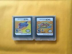 Kirby Squeak Squad+kirby Super Star Ultra Game Card For Nintendo 3ds Dsi Ds