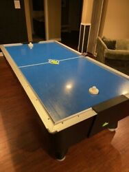 Dynamo 8and039 Air Hockey Pro Style Home Non-coin Operated
