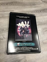 Vintage Ghostbusters 2 Rare Promo Holographic Movie Theater Large Display