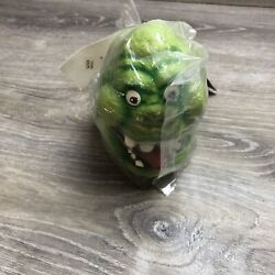 Vintage The Real Ghostbusters Slimer Rubber Plush Haunting Visions Studios
