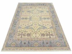 12x15 Ivory Oushak Area Rug Hand-knotted Wool Oriental Carpet 12' X 15'1