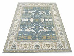 12x15 Oushak Area Rug Hand-knotted Wool Carpet 12'2 X 15'1