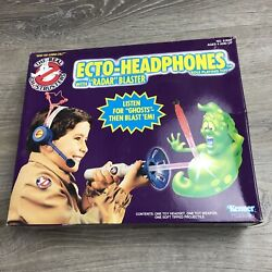 The Real Ghostbusters Ecto-headphones Rare Toy Kenner Vintage 1990 New