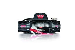 Warn 103253 Vr Evo 10-s Winch 10000 Lb 90 Ft Synthetic Rope 12 Volt Wired Remote