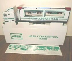 Rare New 2006 Hess Corporation Nyse Stock Exchange Truck, Mint Box, 3,000 Made