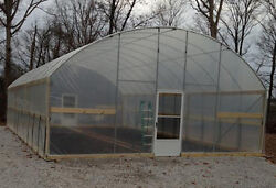 7.5' Sidewall Greenhouse 16' X 24' - High Tunnel Cold Frame Kit - Free Shipping