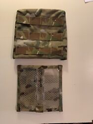Velocity Systems Body Armor Side Plate Pouch Multicam Molle Vpb-3 Nos D