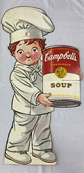Campbell's Soup Kid Chef Litho Life-sized Cardboard Cutout 1994