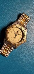 Tag Heuer Series 2000 Ref.964.006 Two Tone Yellow Gold And Stainless Steel Watch