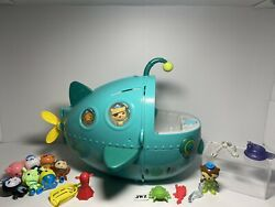 Octonauts Midnight Zone Gup A Toy Figure Playset With Figures And Creatures