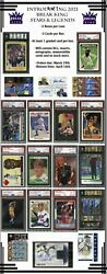2021 Break Kings Stars And Legends Sealed 3 Box Case-3 Cards Per Box