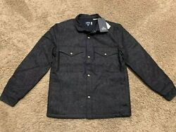 Leviand039s Made And Crafted Sack Jacket Japanese Fabric Neppy Denim S Nwt Rt348 B2