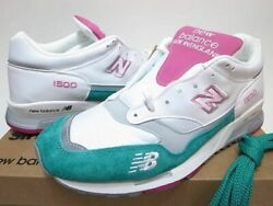 Men 9.0us New Balance Made In Uk M1500wtp Us9 Miami Color White Emerald Pink
