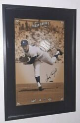 Sandy Koufax Signed Uda Upper Deck Authenticated Breaking Thru Autographed Rare