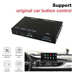 Wireless Ios Carplay For A6 A7 2010-2018 Android Auto Retrofit Interface Play