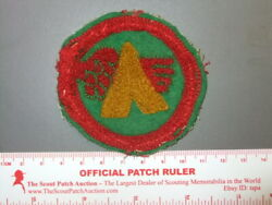Boy Scout Camp Red Wing 1920s Chenille In 9631x