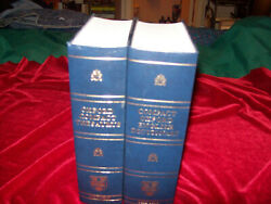 2 Volumes Compact Oxford English Dictionary And Thesaurus Hb 2005