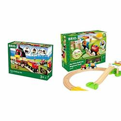 Brio 33719 Farm Railway Set | Toy Train Set For Kids Age 3 And Upgreen And My F...