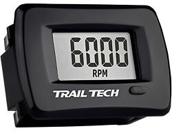 Trail Tech - 732-a00 - Tto Tachometer/hour Meter With Maintenance Can-amarctic