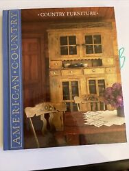 Time-life Books American Country Country Furniture Hardcover 1989