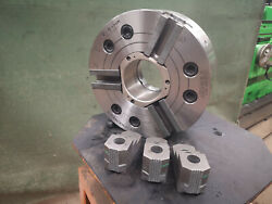 Samchully Mh212 12 3 Jaw Power Chuck Two Step Hard Top Jaws A11 Mount