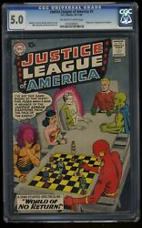 Justice League Of America 1 Cgc Vg/fn 5.0 Off White To White 1st Print