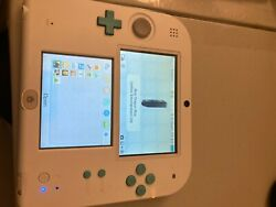 Nintendo 2ds Sea Green Works Well No Game/charger Nice Color