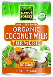 Native Forest Organic Turmeric Coconut Milk 13.5 Ounce Can Pack Of 12