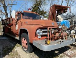 Ford F600 Fire Truck For Parts/repair