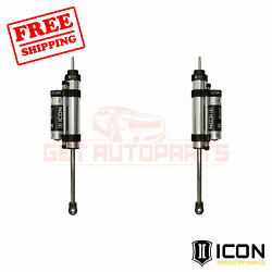Icon 4.5 Series Bypass Rear Piggyback Reservoir Shocks For Jeep Wrangler 07-18
