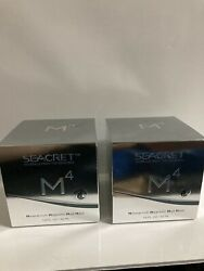 2 X Seacret 55ml Minerals From Dead Sea M4 Mineral Rich Magnetic Mud Mask-new