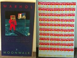 2 Andy Warhol Poster Set Moonwalk Rare 1st Ed Offset Lithograph Print + 100 Cans