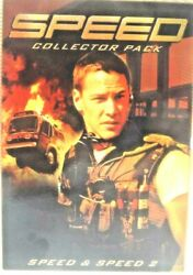 Speed Collector Pack - Five Star Collection Speed And Speed 2 - On Dvd 1997