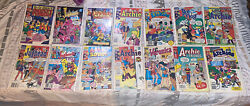 Vintage Comic Book Lot Mostly Archies Comics But Comes With Conan,marvel,ww