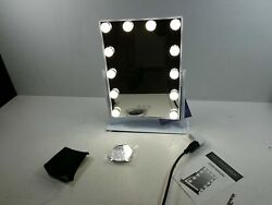 Hansong Large Hollywood Makeup Vanity Mirror with Lights