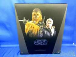Hot Toys Movie Masterpiece Star Wars The Force Awakens Han Solo Chewbacca