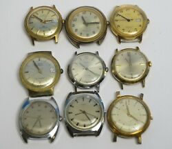 For Parts Or Repair Timex Automatic Self Winding Mechanical Wrist Watch Lot