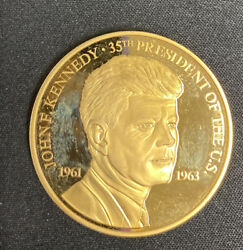 John Fitzgerald Kennedy 1961-1963 United States Of America 35th President-unqiue