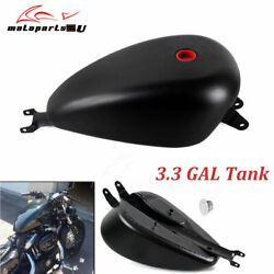 Motorcycle 3.3 Gal Vintage Fuel Gas Tank For Harley Sportster Xl 1200 883 04-06