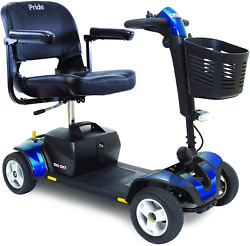 Pride Mobility 4 Wheel Electric Mobility Scooter For S 18ah Battery Pack