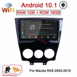 Android 10.1 Radio Stereo Gps Navi Wifi Car Dvd Player For Mazda Rx8 Rx-8 03-10